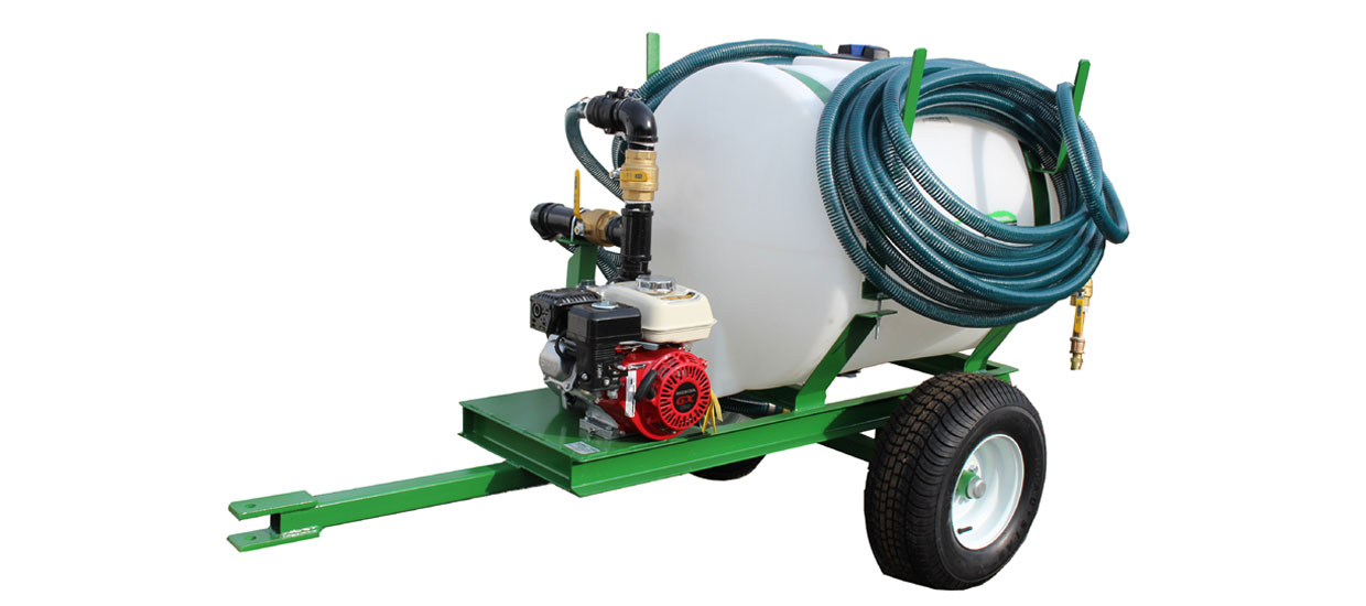 Turbo Turf 100 Gallon Hydroseeder